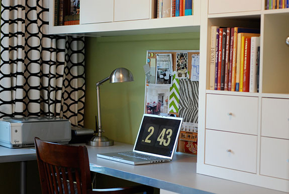 Bright Green Room by Rambling Renovators. Source: Houzz