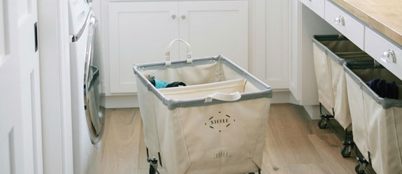 Bluffton, IN Laundry Room by Amy Gerber/Brown Eyes Plus Blue. Source: Houzz