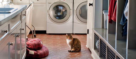 Traditional laundry room. Source: Houzz