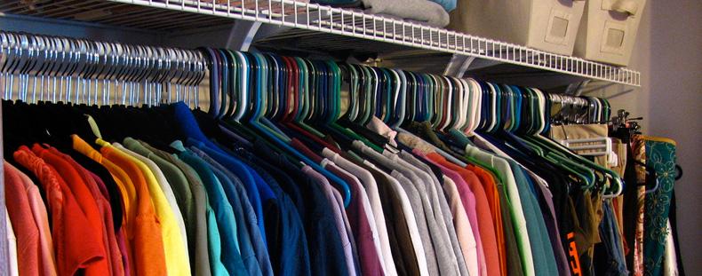 organise your closet