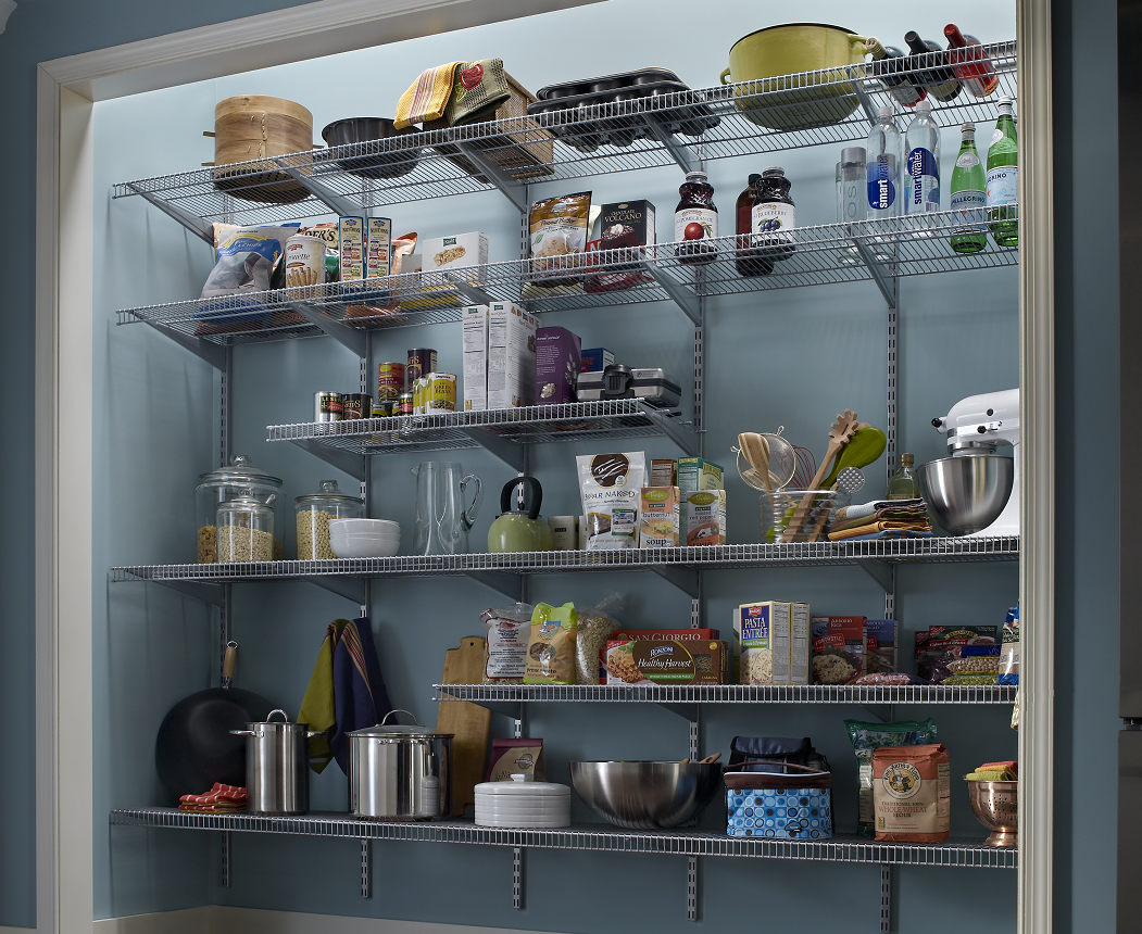 Pantry storage is all about access, visibility, organisation and de-cluttering the kitchen bench.