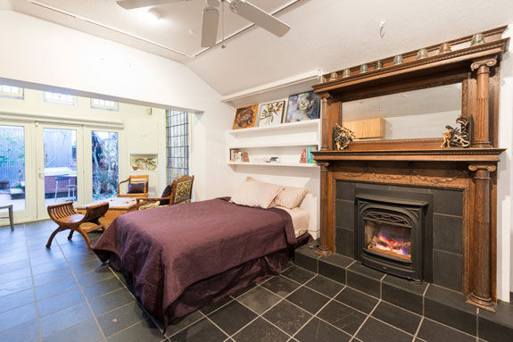 Eclectic Bedroom. Photo: Calista Chandler. Source: Houzz